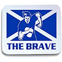 Cotton Island - Tappetino Mouse Pad TRUG0061 rugby scotland logo,