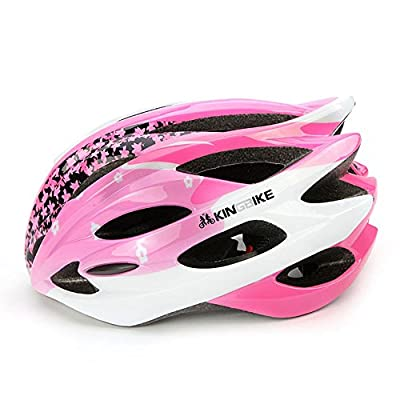 Aogolouk Outdoor Safety Roller Skate/Riding,Mountain Bike Cycling,Bicycle/Bike Teenage Girl/Lady/Women Bike Helmet (Pink) from Aogolouk
