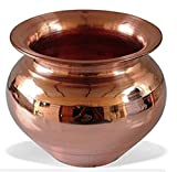 #10: Nandini Pooja Accessory Handmade Copper Lota | Kalash | Pooja Utensil in just Rs 399 Delivery Free