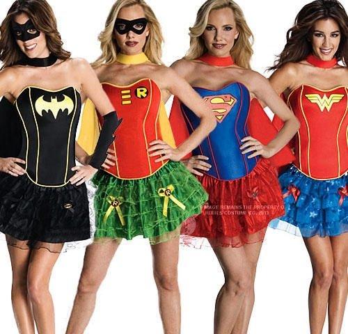 kostüm damen superheld