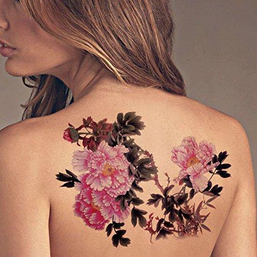 tafly-extra-large-lower-back-colored-tree-peony-flower-temporary-tattoos-body-art-transfer-sticker-f