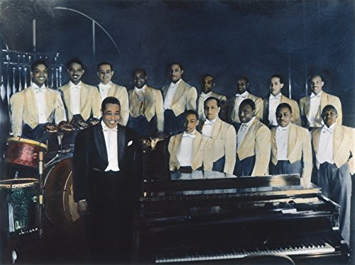 The Poster Corp Duke Ellington (1899-1974)/Nduke Ellington with His Orchestra. Oil Over A Photograph 1937. Kunstdruck (60,96 x 91,44 cm)