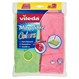 Vileda Microfaser Bodentuch Colors - 2er Pack