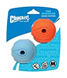 Chuckit! The Whistler Ball Medium 2-er Pack
