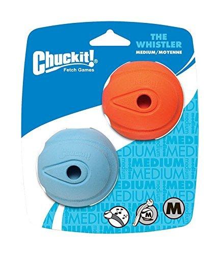 Chuckit! The Whistler Ball Medium 2-er Pack