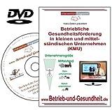 Betriebliche Gesundheitsförderung in kleinen und mittelständischen Unternehmen, DVD Workshop
