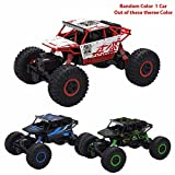 #8: Rock Crawlers 2.4G 4CH 4WD RC Car 4x4 Driving Car 1:18 Scale Drive Bigfoot Car Remote Control Car Model Off-Road Vehicle Toy