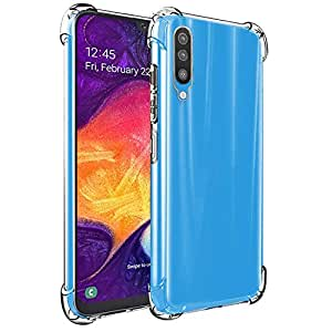 CEDO Bumper Case for Samsung Galaxy A50 / A50s / A30s | Soft Jel Flexible Thin Full Protection Shock Proof Clear TPU Back Case Cover for Samsung Galaxy A50 / A50s / A30s (Transparent)