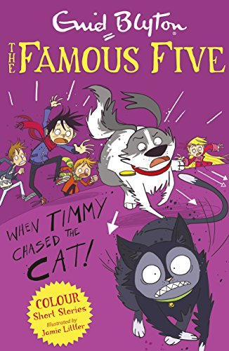 When Timmy chased the cat