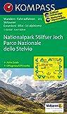 KOMPASS Wanderkarte Nationalpark Stilfserjoch /Parco Nazionale dello Stelvio: Wanderkarte mit Aktiv Guide, Radrouten und Skitouren. GPS-genau. Dt. /Ital. 1:50000: Wandelkaart 1:50 000