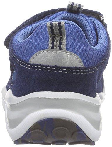 Superfit SPORT5 MINI 600242 Jungen Sneaker Blau (WATER KOMBI 88)