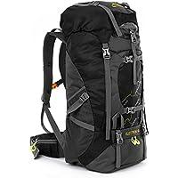 outlife 60L Extra Large Léger Sac à dos de randonnée Sac à dos Pour Camping Voyage Trekking Camping avec Coverture-Pluie Alpinisme