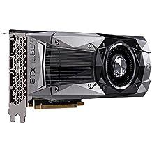 EVGA NVIDIA GeForce GTX 1080ti Gründer Edition 11GB GDDR5X 352Bit Speicher DP/HDMI PCI Express 3Grafikkarte–Schwarz