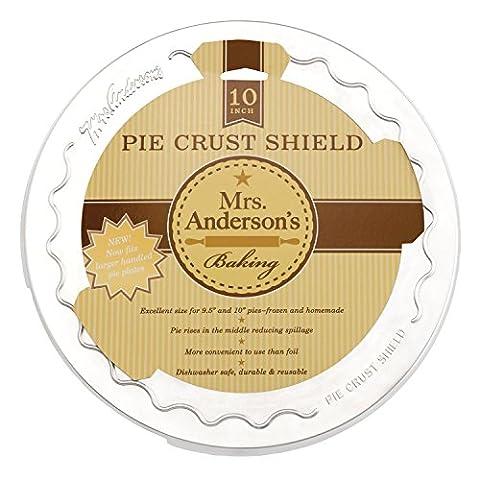 Mme Anderson-Moule à Tarte 10 cm-croûte Shield Protecteur d'écran Orange/Cerise