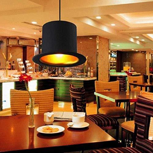 ATR Ellie Chandeliers - Vintage-Mode-Restaurant Cafe Bar Teehaus Kronleuchter, Innenbeleuchtung,Gold Inside-Flat Top