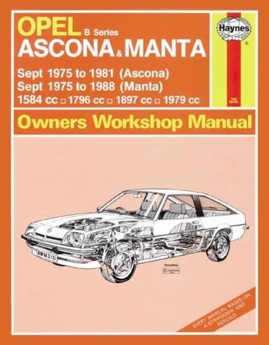Descargar Pdf Gratis Opel Ascona Manta Haynes Service And Repair
