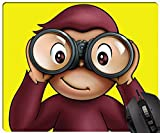 Curious George Best Fashion Custom Image Rectangle Computar Gaming Mouse Pad gift