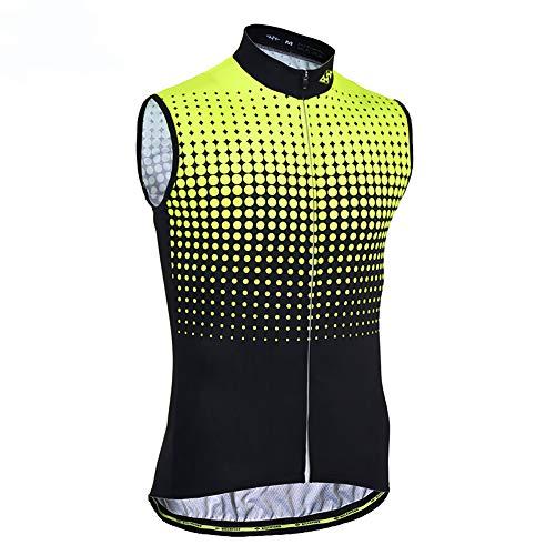 Sunbike Maglia da Ciclismo Senza Maniche da Uomo Maglia da Ciclismo