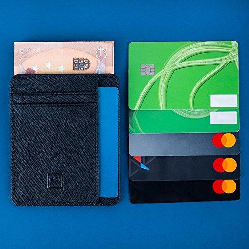 1276ccdc5e Mercor Portafoglio Uomo Piccolo Porta Carte di Credito RFID|Porta ...