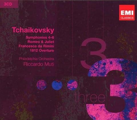 Sinfonien 4-6; Romeo; Francesca; Ouverture 1812 [Import USA]