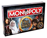 Winning Moves 02394Juegos de mesa–Monopoly Lord of the Rings Edición de Colección versión italiana