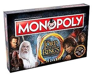 Winning Moves 02394Juegos de Mesa-Monopoly Lord of The Rings Edición de Colección versión Italiana