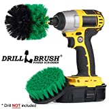 Nuevo cambio rápido Potencia de eje giratorio cocina y encimera de Kit de limpieza por drillbrush