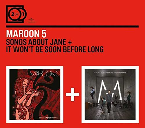 2 For 1:Songs About Jane/It Won't Be Soon Before.. (Digipack ohne Booklet)