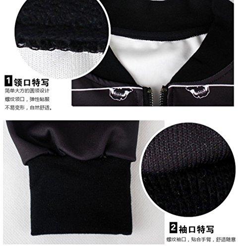 Thenice - Sweat-shirt spécial grossesse - À Rayures - Manches Longues - Femme Taille Unique crâne