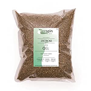 Cistus incanus naturbelassen 500 Gramm - Zistrose in geprüfte Qualität, naturbelassen und direkt vom Landwirt