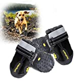 Hapurs Wasserdichte Hunde-Schuhe für Regenwetter