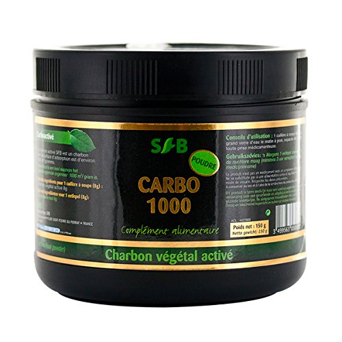 sfb-laboratories-activated-vegetable-carbon-powder-150-gram-pot-aides-with-digestion-and-toning-your