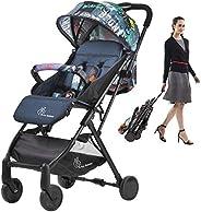 R for Rabbit Pocket Stroller Lite Portable Travel Friendly Pre Installed Baby Stroller and Pram for Baby|Kids|
