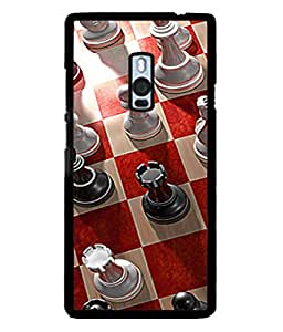 Fuson Designer Back Case Cover for OnePlus 2 :: OnePlus Two :: One Plus 2 (Shatranj Clever Brain Boys Child Children Young Old)