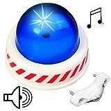 alles-meine GmbH Sound & LED Licht _ Fahrradklingel / Sirene -  Polizei / Einsatzfahrzeug  - ..