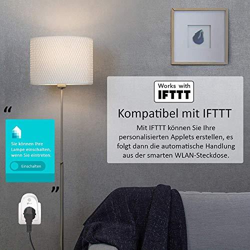 TP-Link HS110(EU) intelligente WLAN Steckdose (mit Verbrauchsanzeige, funktioniert mit Amazon Alexa [Echo, Echo Dot], mit App Steuerung überall und zu jeder Zeit) - 5