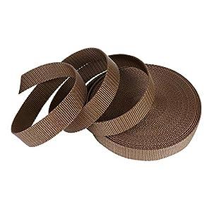 SUNTATOP PP Gurtband -10M Nylon Strapazierfähiges Gurtband -25mm breit -1,8mm Stark