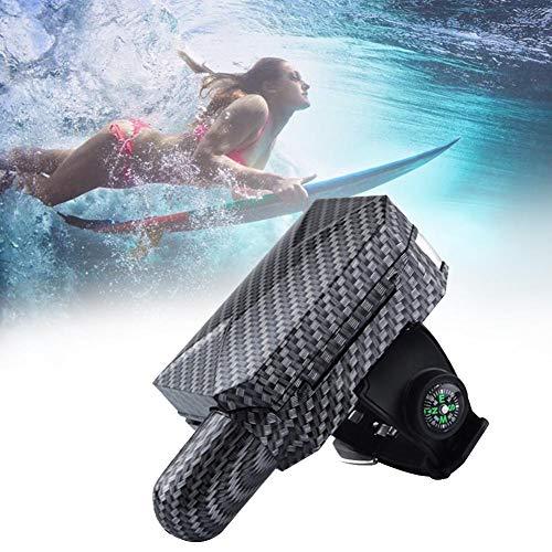 Lievevt Tragbares lebensrettendes Armband-Floss-Armband mit CO2-Zylinder-aufblasbarer Blasen-Schwimmen-Brandungs-Selbstrettung im Freien