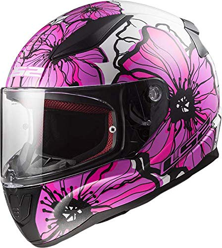 Casco de moto integral LS2 FF353 Rapid Poppies