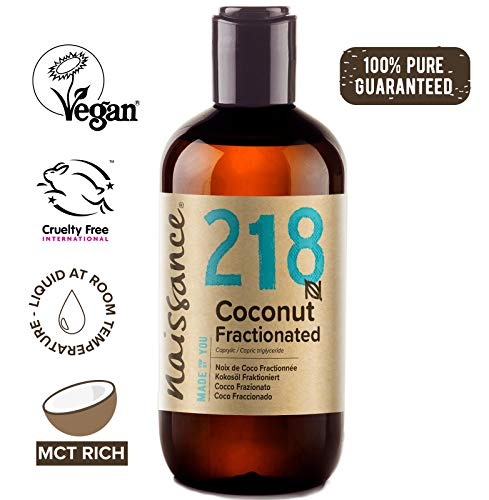 Naissance Fractionated Coconut (no. 218) 250ml - Pure, Natural, Cruelty Free, Vegan
