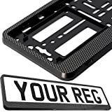 TAPORT® CAR REGISTRATION HOLDER FOR ANY CAR , VAN , TRUCK , TRAILER (CARBON HINGED) - TAPORT® - amazon.co.uk