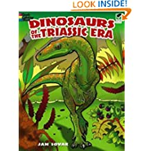 Dinosaurs of the Triassic Era (Dover Nature Coloring Book)