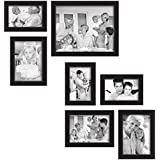 [Sponsored]Set Of Photo Frames 7-Piece Gallery Frame Set, Black- Newest Arrival Painting By Paper Plane Design