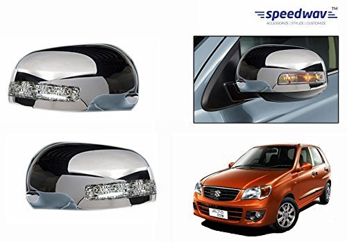 speedwav mirror covers with indicator set of 2 chrome-maruti alto k10 Speedwav Mirror Covers With Indicator Set Of 2 CHROME-Maruti Alto K10 51I6yfoiZCL