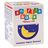 Snufflebabe Vapour Rub Congestion Relief  From The Upper Respiratory Tract - 24g