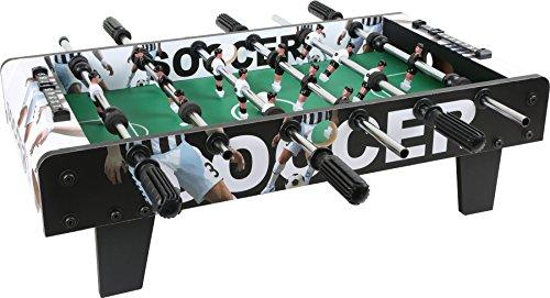 Small Foot 10248 baby-foot en bois, le baby-foot peut être placé sur n'importe quel dessus de table, à partir de 5 ans