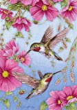 Toland Home Garden Hummingbirds With Pink House Flag - Best Reviews Guide