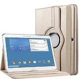 Bingsale 360° Housse en cuir pour Samsung Galaxy Tab 4 10.1' avec...