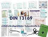 Komplett-Set Erste-Hilfe DIN 13169 EN 13 169 PLUS 1
