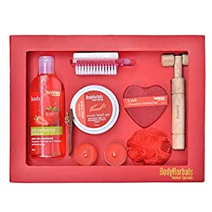 BodyHerbals Strawberry Essentials Gift Set